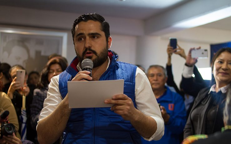 Los candidatos serán elegidos a través de una votación directa por los militantes, informó el dirigente estatal del PAN, Agustín Dorantes.Foto: Archivo