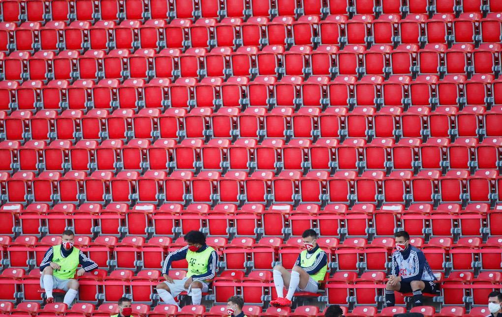 La Bundesliga trata de adaptarse al distanciamiento social
