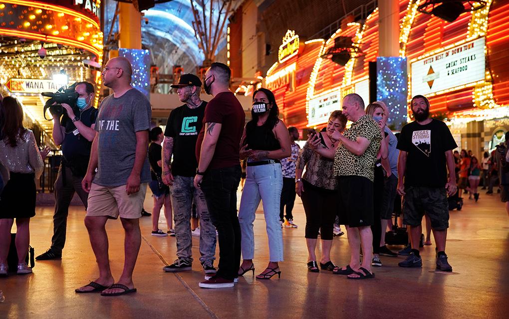 Reabren los casinos en Las Vegas