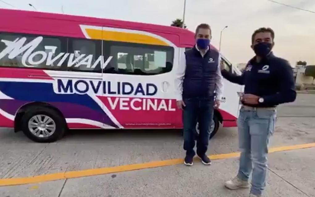 Programa Movilidad Vecinal registra seis mil viajes en una semana