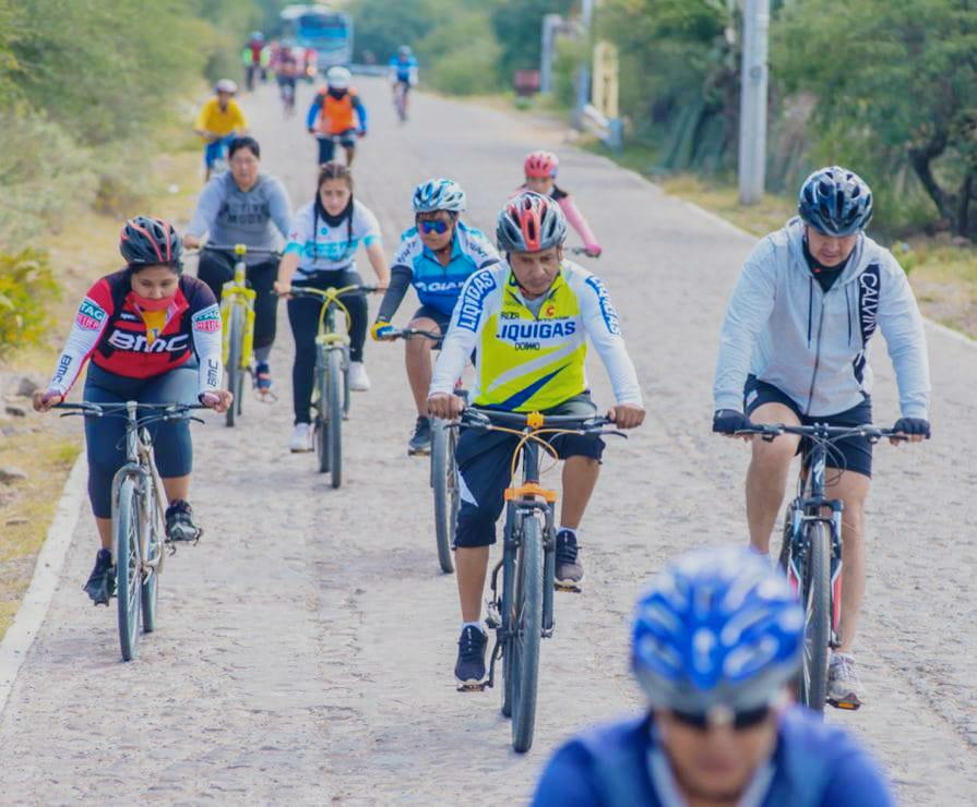 Es ciclismo de montaña opción turística en Colón