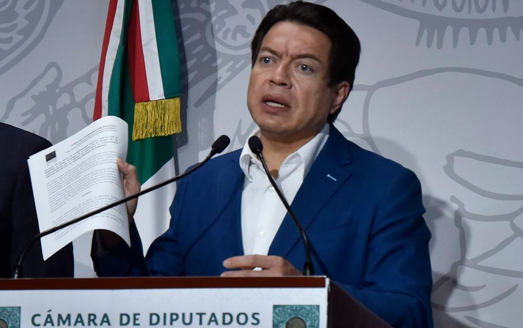 Gana Mario Delgado la dirigencia de Morena
