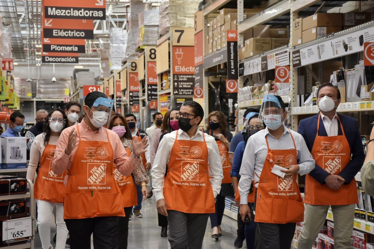 Inaugura Home Depot quinta tienda en Querétaro