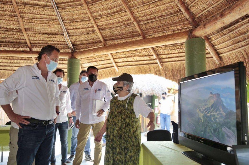 Mauricio Kuri se suma al cuidado de la biosfera