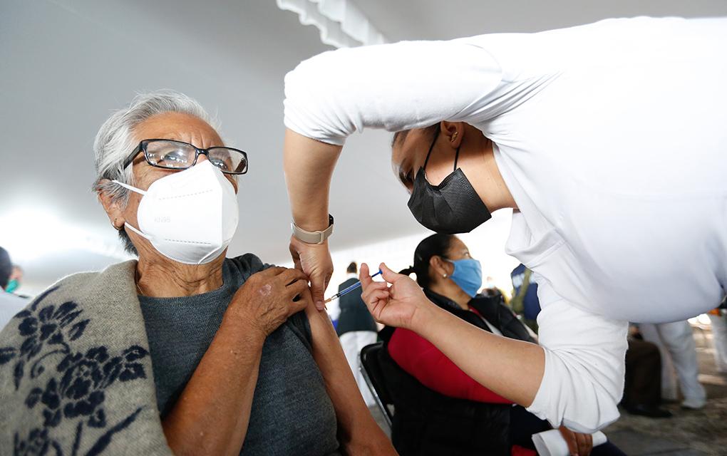 Este mes, segunda dosis de vacuna anti-COVID-19/ Foto: Cuartoscuro