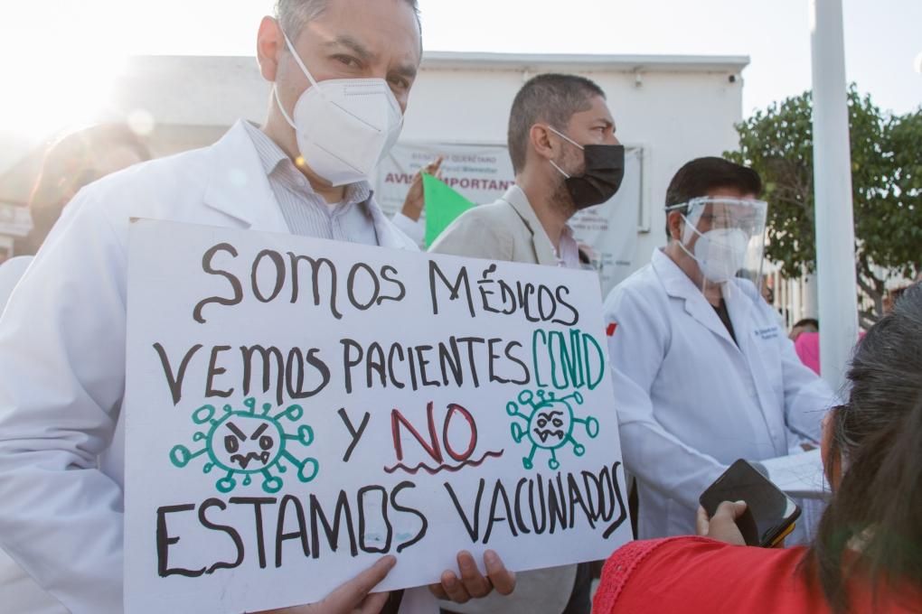 Cancelan marcha de médicos particulares / Foto: Especial