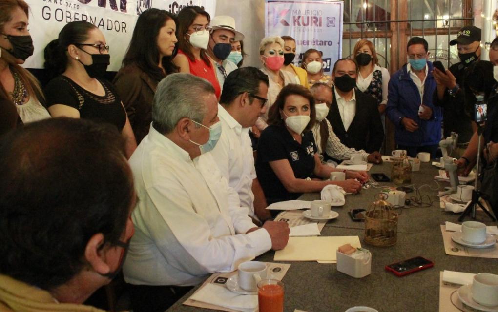 Fundador de Morena en Querétaro se suma a proyecto panista